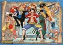 One Piece Group Wall Scroll Poster (U.S. Customers Only)