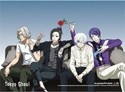 Tokyo Ghoul Group Wall Scroll Poster (U.S. Customers Only)