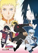 Boruto Group Wall Scroll Poster