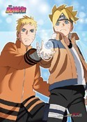 Boruto Naruto and Boruto Wall Scroll Poster
