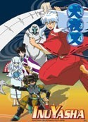 Inu Yasha Group Wall Scroll