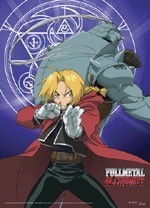 Fullmetal Alchemist Ed and Al Wall Scroll