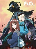 FLCL Fooly Cooly Group Wall Scroll
