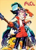 FLCL Haruka and Canti Wall Scroll Poster