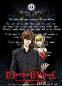 Death Note Light and  Misa Wall Scroll