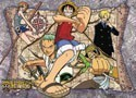 One Piece Group Wall Scroll (U.S. Customers Only)