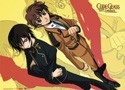 Code Geass Lelouche and Suzaku Wall Scroll (U.S. customers only)