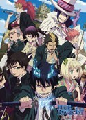 Blue Exorcist Wall Scroll
