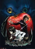 Death Note Ryuk and Apple Wall Scroll