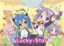 Lucky Star Karaoke Wall Scroll (U.S. Customers Only)