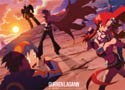 Tengen Toppa Gurren Lagann Simone, Kamina and Yoko Wall Scrolll (only available to U.S. customers)