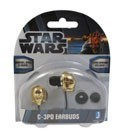 Star Wars C-3PO Ear Phone Ear Buds