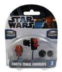 Star Wars Darth Maul Ear Phone Ear Buds