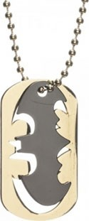 Batman Logo Cut Out Dog Tag