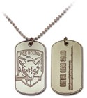 Metal Gear Solid Fox Hound Dog Tag