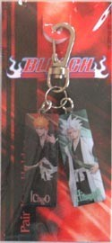 Bleach Hitsugaya and Ichigo Key Chain
