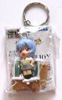Neon Genesis Evangelion SD Rei Key Chain