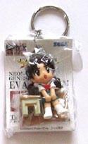 Neon Genesis Evangelion SD Hikari Key Chain