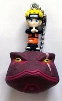 Naruto and Accessory Key Chain and Figure