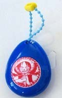 One Piece Luffy Blue Soundrop Key Chain