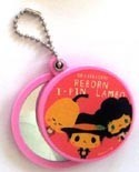 Hitman Reborn Ipin, Reborn, Lambo Pocket Mirror Key Chain