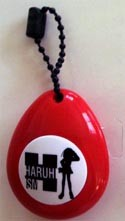 The Melancholy of Suzumiya Soundrop Key Chain Haruhi Red