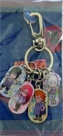 Naruto Sasuke's Team Import Key Chain