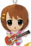 K-On 3'' Plush Key Chain Yukata Yui