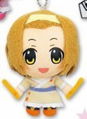 K-On 3'' Plush Key Chain Yukata Ritsu