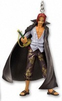 One Piece Figure Key Chain Shanks