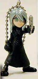 Final Fantasy Advent Children Gashapon Key Chain Yazoo