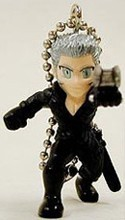 Final Fantasy Advent Children Gashapon Key Chain Rose