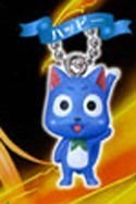 Fairy Tail Mascot Key Chain Happy