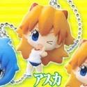 Neon Genesis Evangelion Puchi Asuka Winking Mascot Key Chain