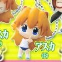 Neon Genesis Evangelion Puchi Asuka Pointing Mascot Key Chain