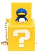 Nintendo Item Box Key Chain Penguin Suit