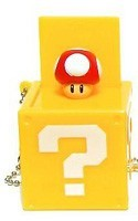 Nintendo Item Box Key Chain Red Mushroom
