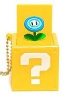 Nintendo Item Box Key Chain Fire Flower