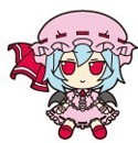 Touhou Project Rubber Key Chain FumoFumo Remilia