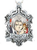 Hitman Reborn Metallic Swing Charms Gokudera