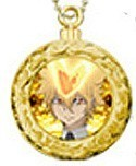 Hitman Reborn Metallic Swing Charms Primo