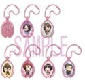 Hakuouki Metal Key Chain Set of 6