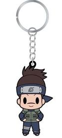 Naruto Shippuuden Rubber Key Chain Iruka