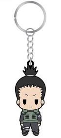 Naruto Shippuuden Rubber Key Chain Shikamaru