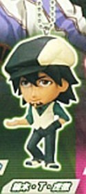 Tiger and Bunny Kotetsu Mascot Key Chain Real Face Swing