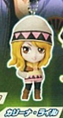 Tiger and Bunny Karina Lyle Mascot Key Chain Real Face Swing