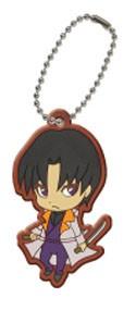 Rurouni Kenshin Aoshi Rubber Key Chain