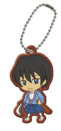 Rurouni Kenshin Soujiro Rubber Key Chain