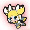 Vocaloid X Powerpuff Girls Bubbles Key Chain