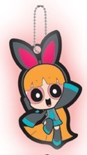 Vocaloid X Powerpuff Girls Blossom Key Chain